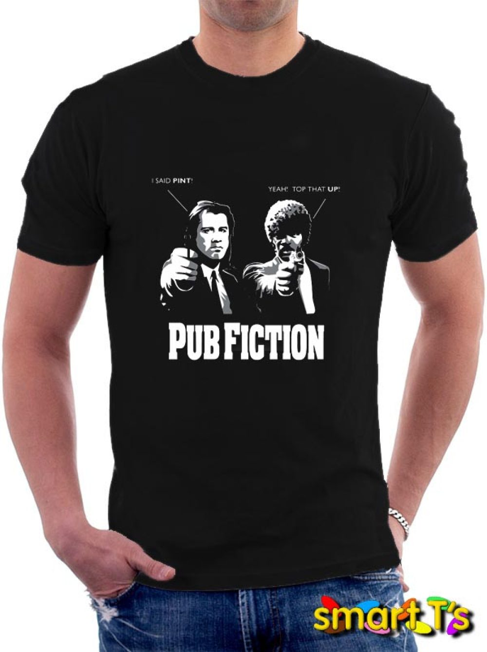 Pub Fiction T Shirt